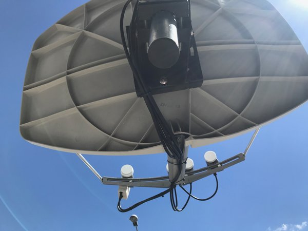 Antenne Big BISAT Magasin Geosat