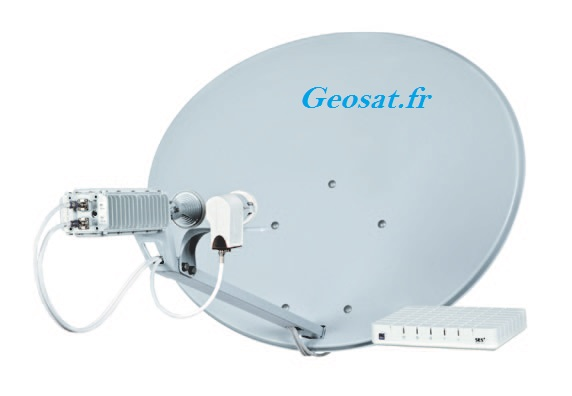 Location Kit Internet par Satellite Haut-Débit Geosat